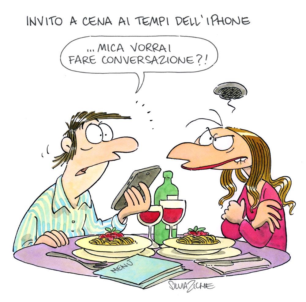 Popolare Invito a cena – Silvia Ziche NA96